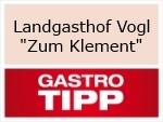 """Logo Landgasthof Vogl """"Zum Klement"""""""