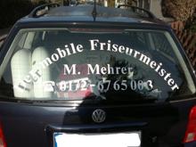 Der mobile Friseurmeister Michael Mehrer