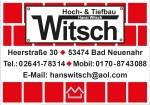 Logo Hoch- und Tiefbau Hansi Witsch