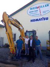 Riedmiller GmbH  Baumaschinenverleih & Landschaftspflege