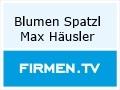 Logo Blumen Spatzl  Inh. Max Häusler