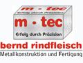 Logo m-tec Metallkonstruktion und Fertigung  Inh. Bernd Rindfleisch