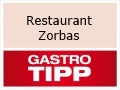 "Logo Restaurant Zorbas ""in Tauber Hotel Kette"""