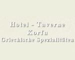 Logo Hotel-Taverne Korfu