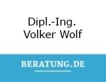 Logo Kanzlei für Wirtschaftsberatung Bau  Dipl.-Ing. Volker Wolf