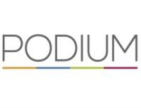 Logo PODIUM Redner & Konzepte Rednervermittlung und -coaching