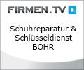 Logo Schuhreparatur & Schlüsseldienst Bohr