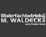 Logo Malerfachbetrieb  M. Waldeck GmbH
