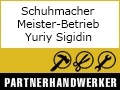 Logo Schuhmacher-Meister-Betrieb  Yuriy Sigidin