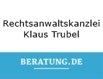 Logo Rechtsanwaltskanzlei  Klaus Trubel