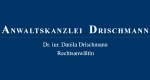 Logo Anwaltskanzlei Drischmann