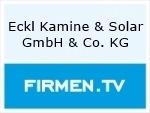 Logo Eckl Kamine & Solar GmbH & Co. KG