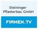 Logo Steininger Pflasterbau GmbH