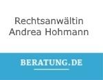 Logo Rechtsanwältin  Andrea Hohmann