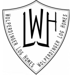 Logo Blockhausbau zum Wolperdinger
