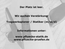 Statikbüro Dr. Pflücke GmbH / Prüfingenieurbüro Dr.-Ing. Torsten Pflücke