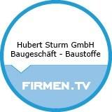 Logo Hubert Sturm GmbH  Baugeschäft - Baustoffe