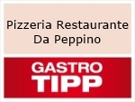 Logo Pizzeria Restaurante Da Peppino