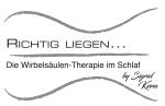 Logo Richtig Liegen – Die Wirbelsäulentherapie im Schlaf by Sigrid Kern