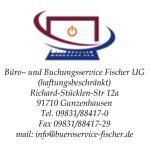 Logo Büro- und Buchungsservice Fischer UG (haftungsbeschränkt)