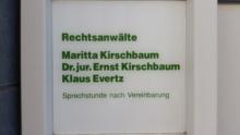 Maritta Kirschbaum (bis Juni 2015) Klaus Evertz  Rechtsanwälte