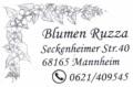 Logo Blumen Ruzza