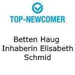 Logo Betten Haug  Inhaberin Elisabeth Schmid