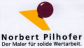 Logo Norbert Pilhofer  Der Maler für solide Wertarbeit