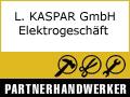 Logo L. KASPAR GmbH Elektrogeschäft