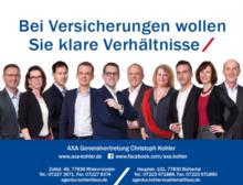 AXA Versicherung Christoph Kohler