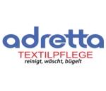 Logo adretta  Teppich-, Polster- u. Kleiderpflege GmbH