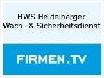 Logo HWS Heidelberger Wach- & Sicherheitsdienst GmbH
