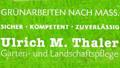 Logo Garten- und Landschaftspflege  Ulrich M. Thaler
