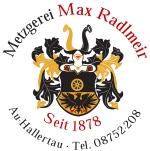 Logo Max Radlmeir OHG Metzgerei