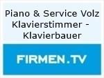 Logo Piano & Service Volz Klavierstimmer - Klavierbauer