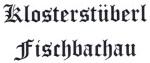 Logo Klosterstüberl Fischbachau