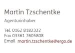 Logo Martin Tzschentke  Hauptagentur der ERGO Beratung und Vertrieb AG