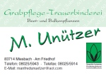 Logo Grabpflege - Trauerbinderei  Manfred Unützer