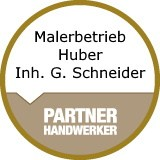 Logo Malerbetrieb Huber  Inh. Gabriele Schneider