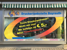 Druckertankstelle Bayreuth GLOBAL INK