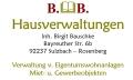Logo B&B Hausverwaltung  Birgit Bauschke