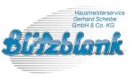 Logo Blitzblank Hausmeisterservice  Gerhard Scheibe GmbH & Co. KG
