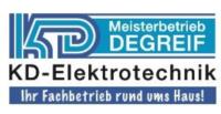 Logo Meisterbetrieb Degreif KD-Elektrotechnik