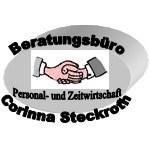 Logo Beratungsbüro  Personal- und Zeitwirtschaft  Corinna Steckroth