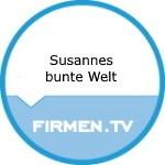 Logo Susannes bunte Welt Blumen, Ballons und schöne Dinge