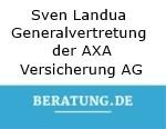 Logo Sven Landua Generalvertretung der AXA Versicherung AG
