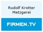 Logo Rudolf Krotter  Metzgerei