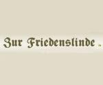 """Logo Hotel und Restaurant """"Zur Friedenslinde"""""""