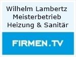 Logo Wilhelm Lambertz Meisterbetrieb Heizung & Sanitär
