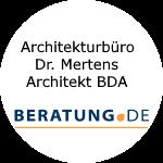 Logo Architekturbüro Dr. Mertens Architekt BDA